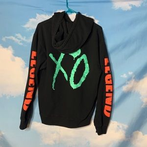 XO The Weekend Hoodie size Small